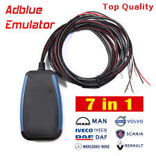 ADBLUE EMULATOR 7IN1 with programming adapter