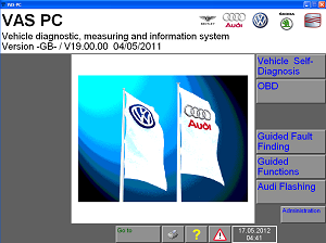VASPC Version 19.01.01 DEALER DIAGNOSTIC SOFTWARE FOR VAS5054A