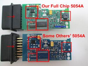 Professional Diagnostic Laptop 16 car diagnostic programs VAS 5054A with OKI Chip