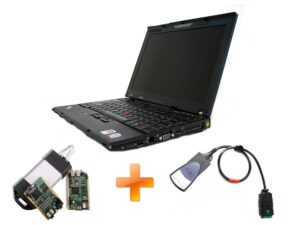 HI TECH LENOVO (IBM) Diagnostic computer with FULL CHIP  LEXIA 3  + FULL CHIP Can Clip