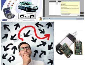 For Renault CAN Clip Training v4.00 Multilanguage