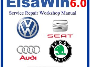 ELSAWIN 6.0 2017 Audi Volkswagen Seat Skoda Service Repair Manual WINDOWS FULL
