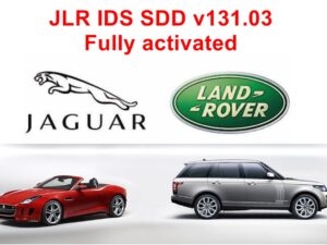 JLR IDS /SDD v131.03 Jaguar/Landrover Diagnostic Software