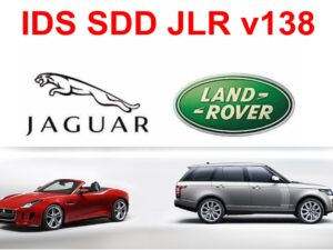 JLR IDS /SDD v138.02 Jaguar/Landrover Diagnostic Software