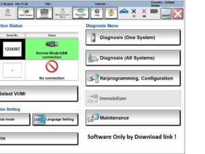 Nissan Consult-III Plus v71.40 Software Multilanguage