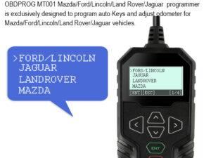 OBD Mileage Correction Tool for Mazda, FORD, Jaguar, Land Rover