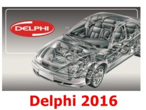 DELPHI 2016 (Cars + Trucks) Software with KEYGEN