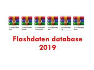 Flashdaten database for ERWIN for VAG cars 2019