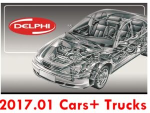 DELPHI 2017.01 (Cars + Trucks) Software