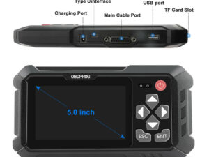 OBDPROG M500 Car Odometer Adjustment + Scan Tool