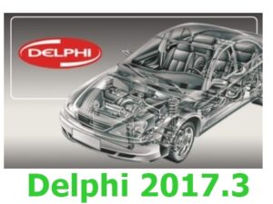 DELPHI 2017.3 (Cars + Trucks) Software + Keygen
