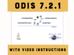 ODIS 7.2.1 with the latest data update  70201.101.70