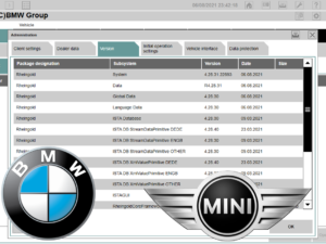 ISTA+ Diagnostic software for BMW and MINI  (4.28.31)